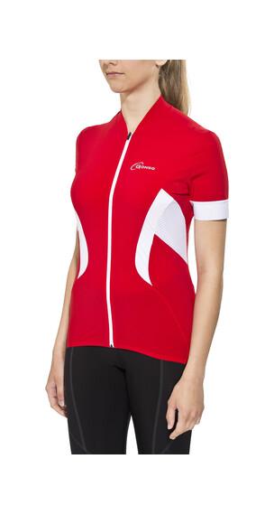 Gonso Febe Fietsshirt korte mouwen Dames rood